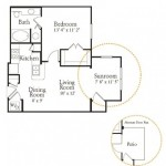 Ridglea Village Apartments Floor plan