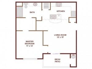 AMLI Upper West Side Apartments Floor Plan