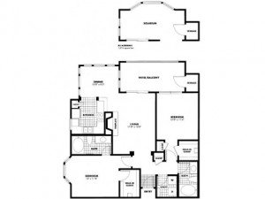 Firestone Upper West Side Apartments Floor Plan