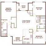 AMLI 7th Street Station Apartments Floor Plan