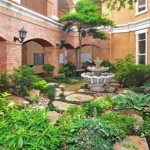 AMLI Upper West Side Apartments Courtyard & Fountain