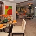 AMLI Upper West Side Apartments Dining & Living Room