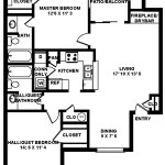 Vieux Coulee Apartments Floor Plan