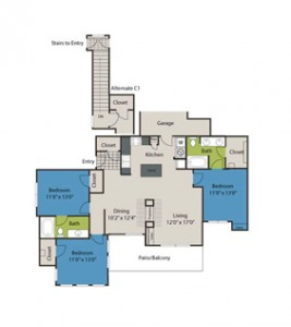 Marquis at Bellaire Ranch Apartments Floor Plan