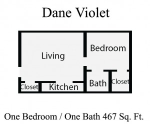 Harris Gardens Apartments Floor Plan