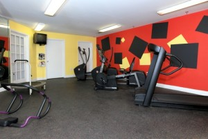 Homes of Parker Commons Apartments Gym