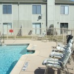 Hulen Park Place Townhomes Apartment Pool.