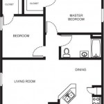 North Greenbriar Apartments Floor Plan