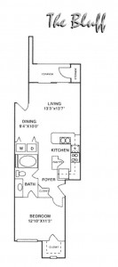 Orion at Oak Hill Apartment Floor Plan