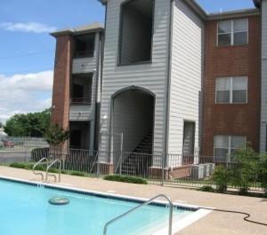 Pennsylvania Place Apartment Pool.