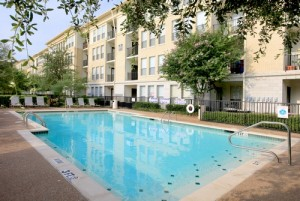 Homes of Parker Commons Apartments Pool Area