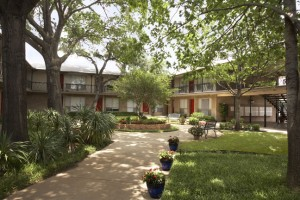 Harris Gardens Apartments Property Ground