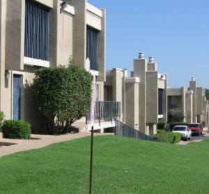 Ridgmar Hills Apartment View....
