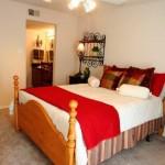River Park Apartment Bedroom.