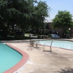The Estates at Ridglea Hills Apartment Pool.