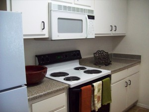 The Place at Westover Hills Apartment Kitchen