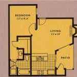Villas of Oak Hill Apartment Floor Plasn