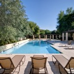 Villas of Oak Hill Apartment Pool.